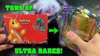 *SO MANY!* This STRANGE Pokemon Card Box had OVER 150 ULTRA RARES HIDDEN INSIDE!