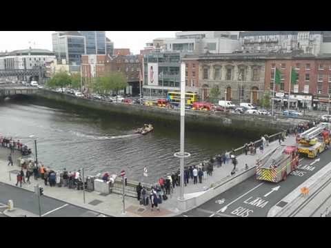 Man nearly dies in dublin liffey