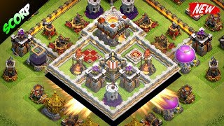TH11 Trophy Base | CoC Th11 Base 2017 | Anti 2 Star Best Trophy Pushing Base 2017 | Clash Of Clans
