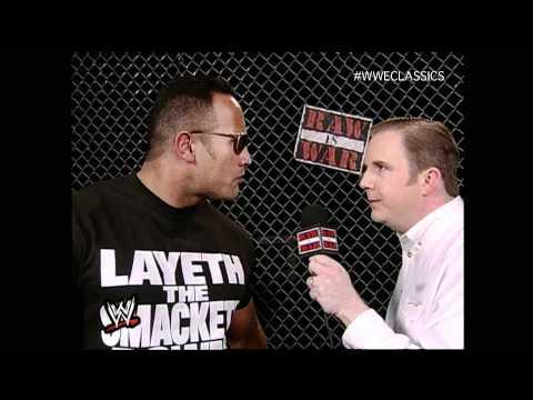 The Rock Promo Raw 1/17/00