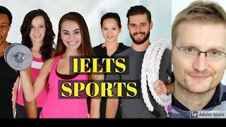 Baixar IELTS speaking -  how to use advanced vocabulary to talk about sport