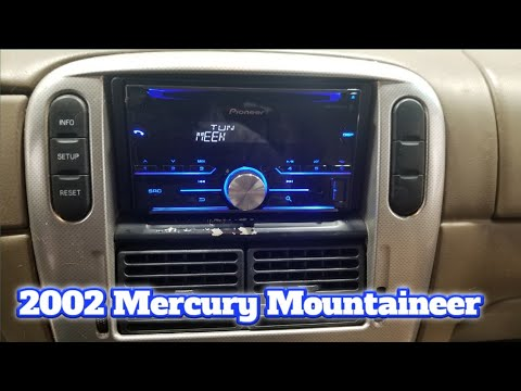 2002 Mercury Mountaineer Radio Removal
