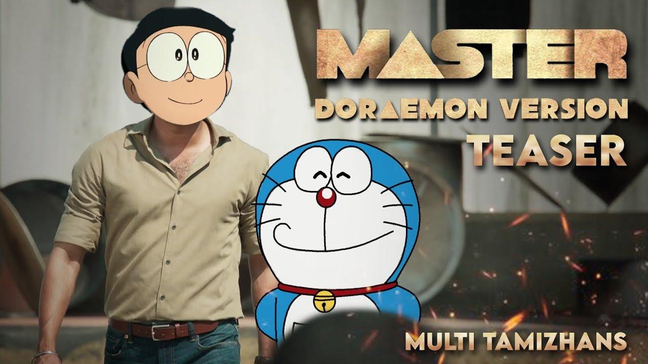 Download Master Teaser - Doraemon version | Thalapathy Vijay Movie | Nobita Shizuka Gian Suneo