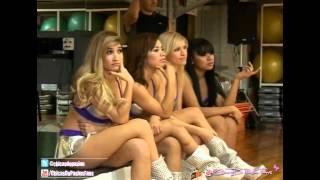 Las Chicas De Pasion Ensayo para el Bailando 2012 Junto A Florencia Peña
