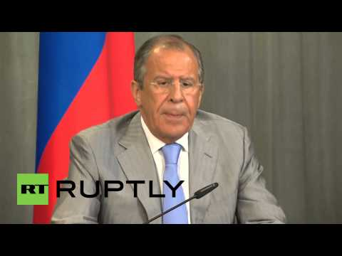 "Russia: Lavrov asks the U.N. to provide ""humanitarian corridors"" to Ukraine victims"