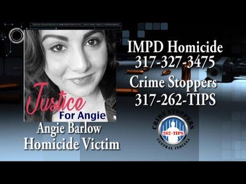 Who Killed Angela Barlow? Call IMPD Homicide at 317-327-3475