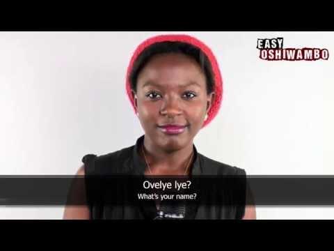 Easy Oshiwambo - Basic Phrases: Greetings