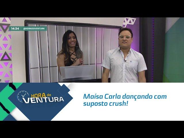 Maísa Carla dançando com suposto crush! - Bloco 02