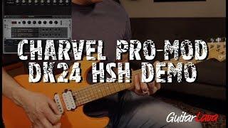Charvel Pro Mod DK24 HSH Satin Orange Crush DEMO