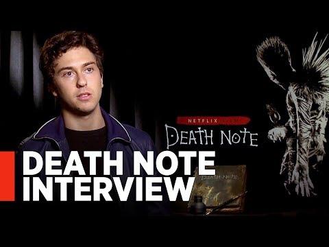 DEATH NOTE: Nat Wolff Interview
