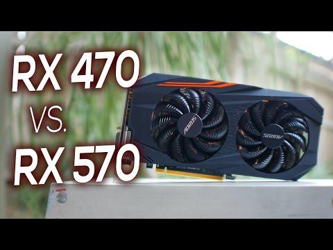 Aorus RX 570 Review - Comparison Vs. Gigabyte RX 470