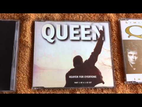 QUEEN - Cd's, Singles, Bootlegs