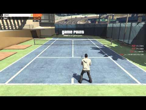 GTA V Online - Tennis Pros