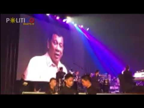 Duterte sings 'Ikaw' upon request of Trump