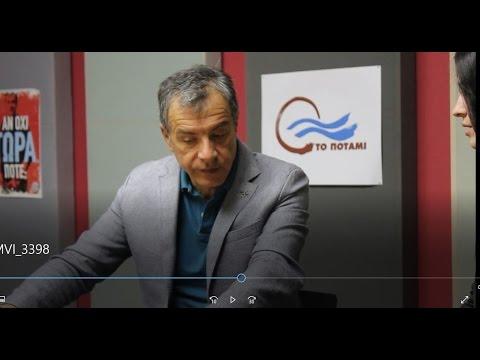 VAN Project: Stavros Theodorakis talks to Arilena Dimitriou