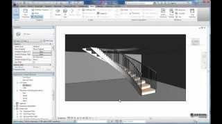 Creating a Spiral Staircase in Revit Architecture 2012 & 2013