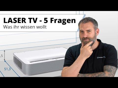 LASER TV - 5 Dinge, die man wissen sollte.