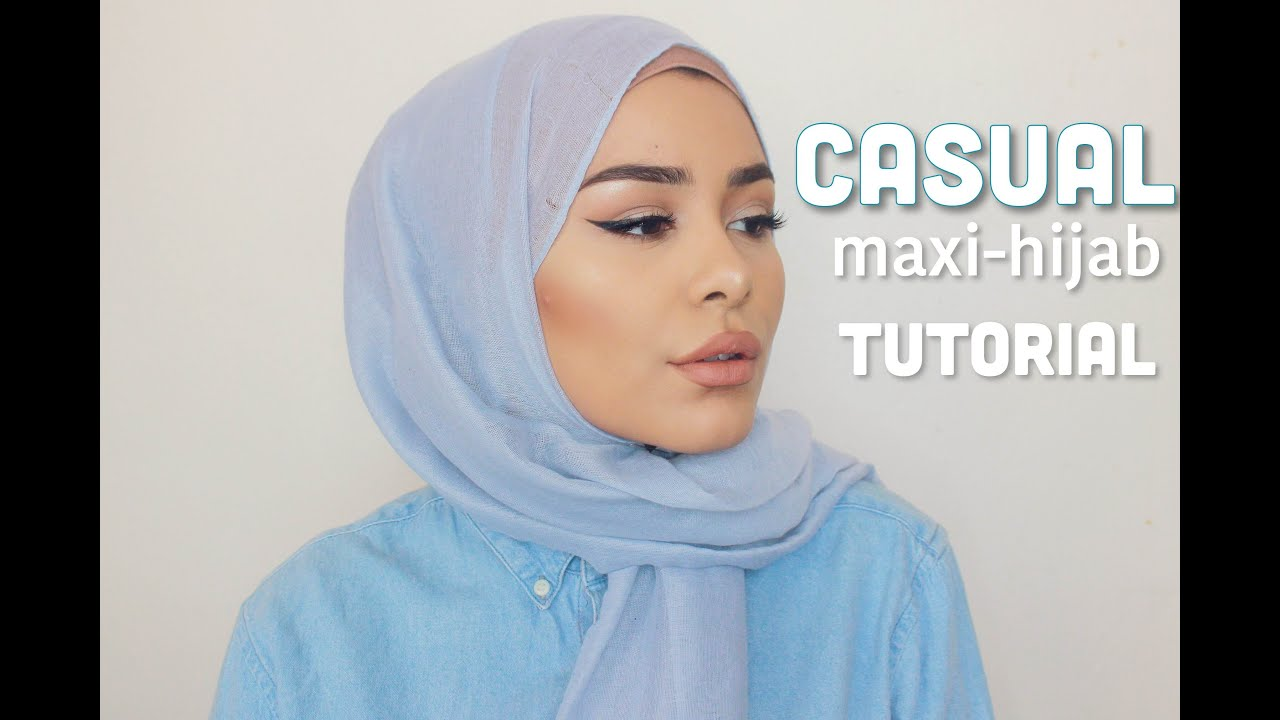 Casual Very Easy Hijab Tutorial Youtube