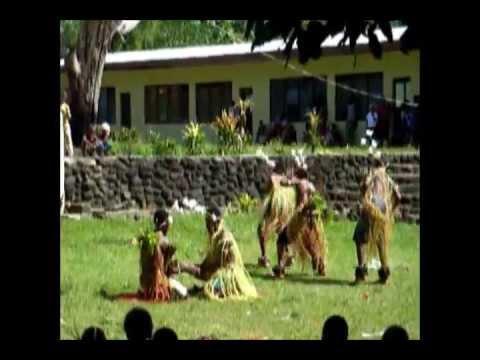 Traditional dancing in Rambi, Fiji, Tonga, Vanuatu and others