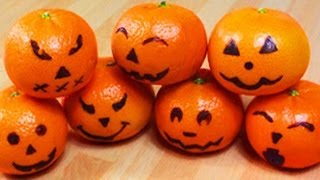 How To Make Spooky Oranges
