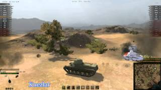 World of Tanks - T-50-2 gameplay (5 kills)