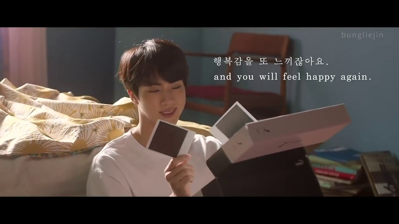 LOVE YOURSELF | motivational words by Jin of BTS (방탄소년단)