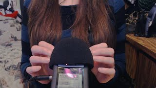 [ASMR] Touching/Scratching H4N Microphone (No Talking)