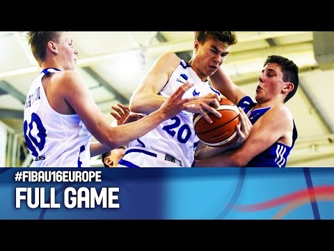 Estonia v Finland - Full Game - FIBA U16 European Championship 2016