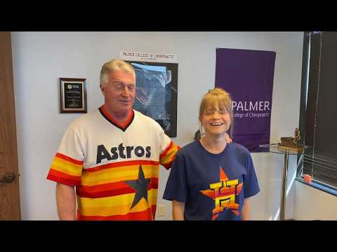 Florida Lady With Perfect 3 D Posture After 6 Adjustments, Houston Chiro Dr J GO HOUSTON ASTROS!