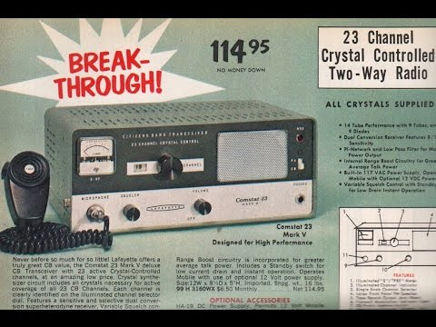 CB Radio talk and disputes 1969 Philadelphia PA