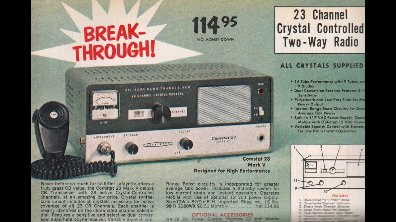 Vintage CB radio trolling from 1969 / Boing Boing