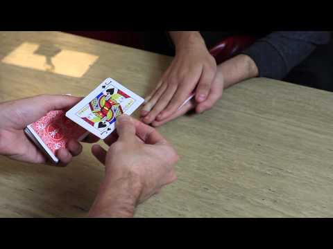Thumbnail: David Blaine Hand Sandwich Trick (Here then There) - Card Trick Tutorial