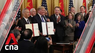 Breakthrough US-China trade deal: China's perspective