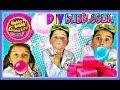 How to Make Homemade Bubble Gum | EASY DIY Bubble Gum Recipe!!