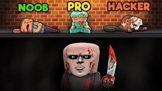Minecraft - ESCAPE THE PSYCHO MAZE! (NOOB vs PRO vs HACKER)