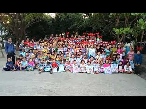 Children in Myanmar with gifts thanking my very good friends in Shanghai for making this happen!!!!