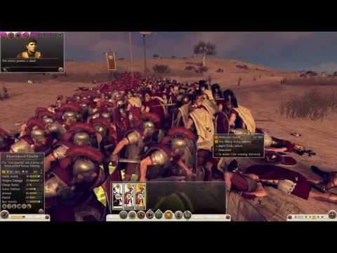 Rome 2 - Spartan Heroes vs. Praetorian Guard