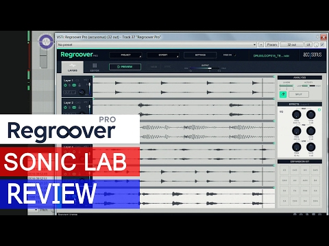 Accusonus Regroover Pro AI beat Machine