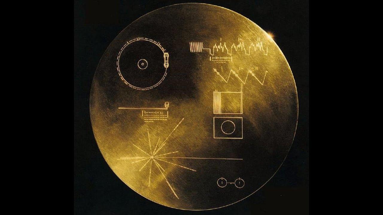 Вояджер 1 записи золотой пластины,Фото и звуки. - YouTube