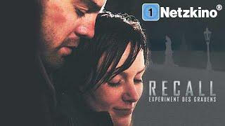 Recall – Experiment des Grauens (Thriller ganzer Film Deutsch, Thriller Deutsch, Film Deutsch)
