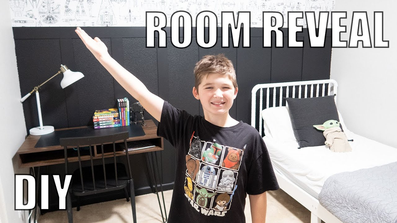 NEW ROOM REVEAL | DIY STAR WARS