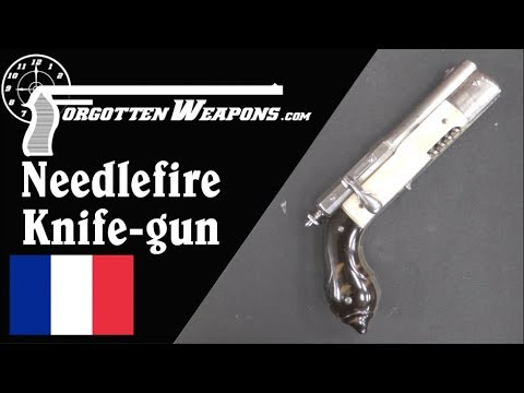 Parisian Needlefire Knife-Pistol Combination
