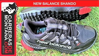 NEW BALANCE SHANDO: Zapatilla de máxima protección para andar y correr por el monte.