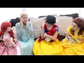 SUPERHERO COMPILATION! Joker Kidnap Frozen Elsa baby w/ Police Baby vs Spiderman Baby Recuse Elsa