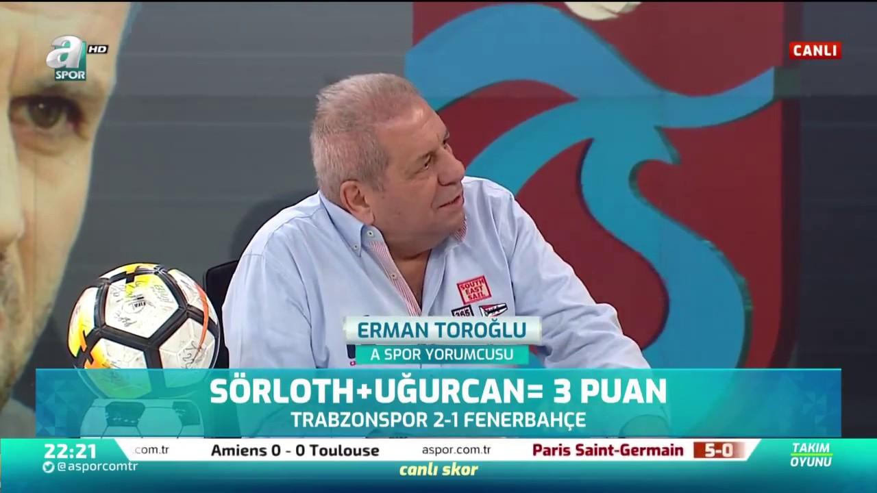 Erman Toroğlu'ndan Maç Sonu Olay Sözler / Trabzonspor 2 - 1 Fenerbahçe