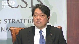 小野寺元防衛大臣「安保法制で北に十分対応できる」(17/05/02)