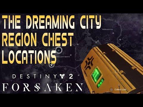Destiny 2 Forsaken Dreaming City Region Chest Locations - GosuNoob