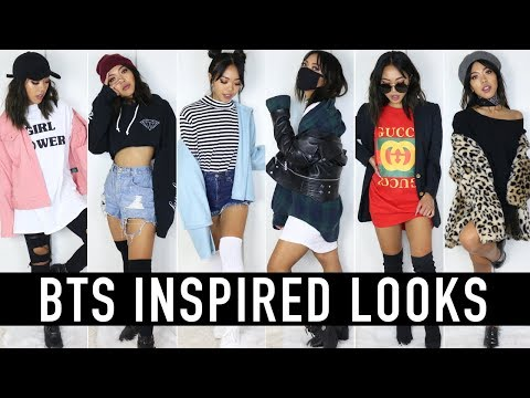 BTS (BANGTAN BOYS) & IDEAL GIRL TYPE INSPIRED OUTFITS | Nava Rose