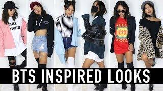 BTS (BANGTAN BOYS) & IDEAL GIRL TYPE INSPIRED OUTFITS | CELEBRITY INSPIRED TUTORIALS | Nava Rose