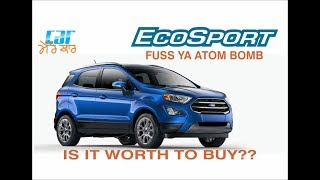 Ford EcoSport : Which variant is worth to buy
